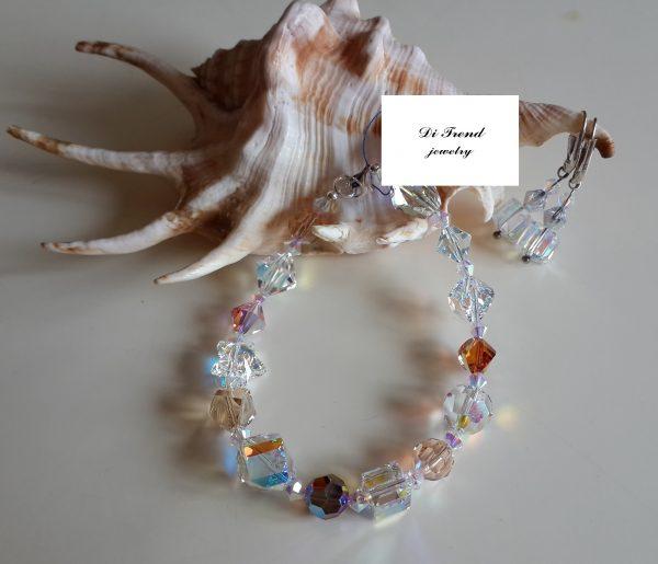 Дамска гривна Ориент с австрийски кристали