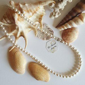 Колие Бели перли
