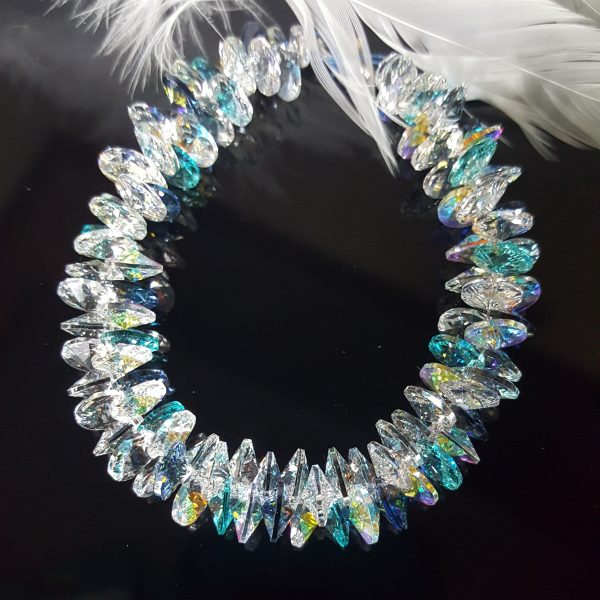 Уникални гривни с кристали Сваровски