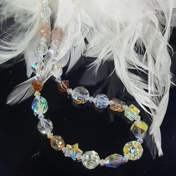 Бижута Swarovski Crystals колиета,гривни