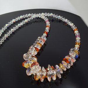 Колие с кристали Swarovski