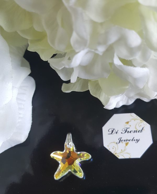 Висулка за колие Морска звезда Аурора Бореалис