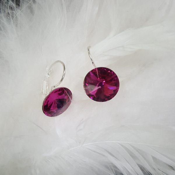 Бижута с кристали Сваровски в онлайн магазин - обеци