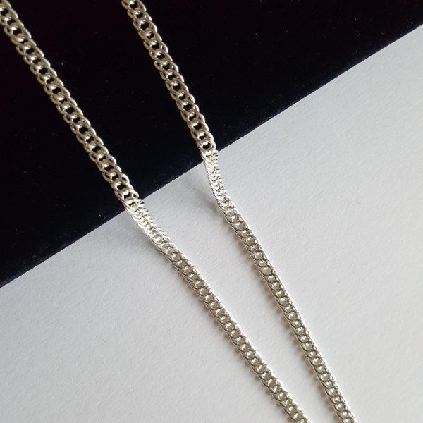 Бижута сребро 925 масивен синджир,ланец