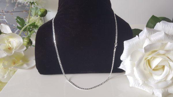 Верижка 60 см - Италиански сребърни бижута