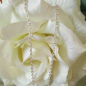 Дамска сребърна верижка дължина 50 см