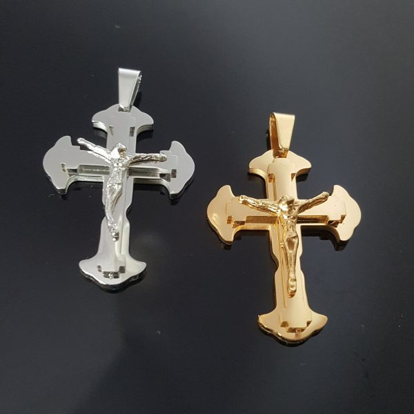 Висулка за колие Кръст Разпятие
