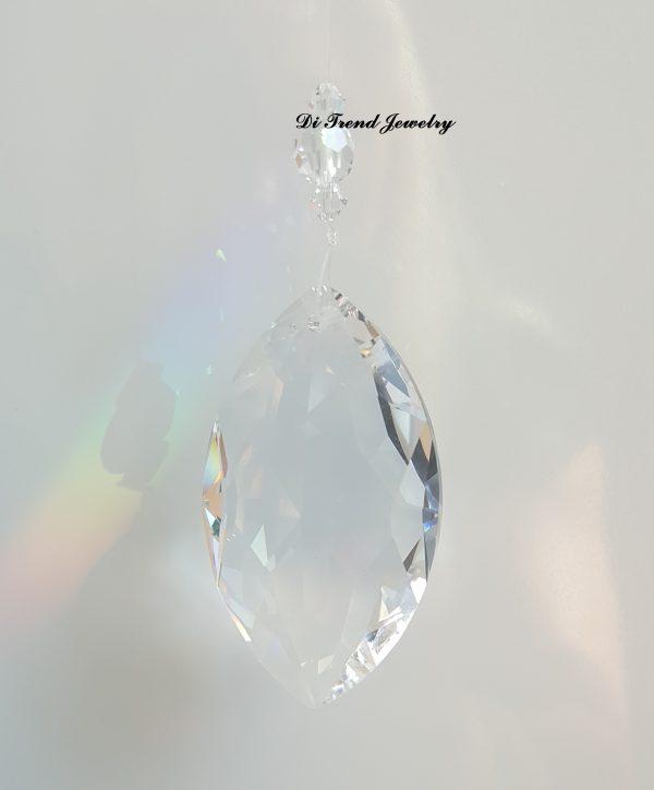 Кристал за окачване - Oval Pear Shape