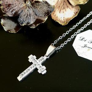 Комплект верижка с кръст