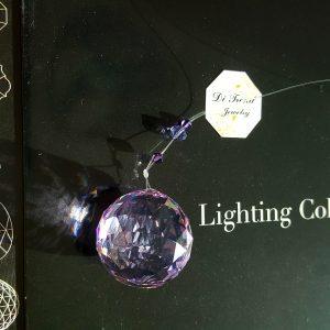 Архитектурен кристал - Ball Violet