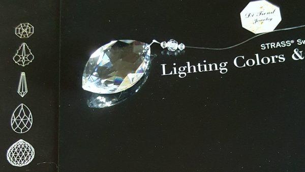 Архитектурен кристал - Oval Pear Shape