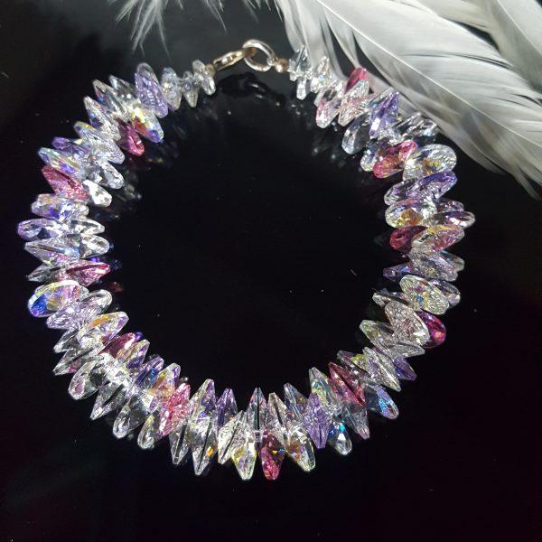 Комплект с кристали Сваровски