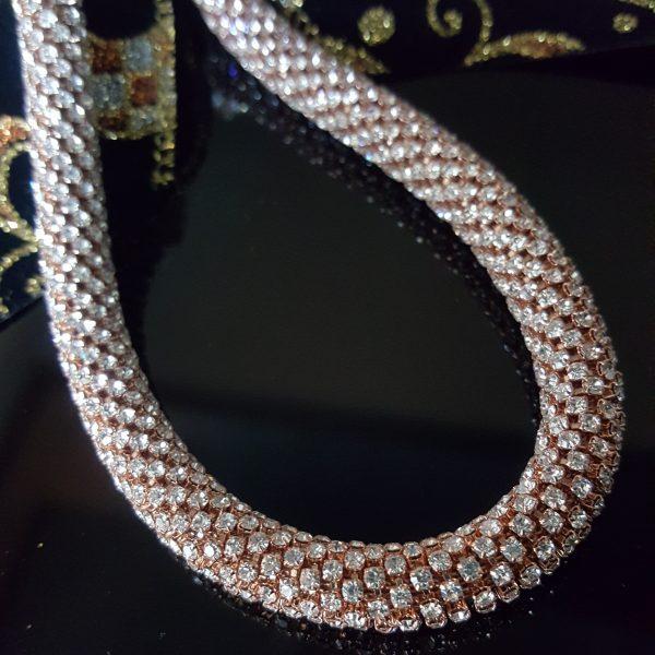 Дамско Луксозно колие с кристали