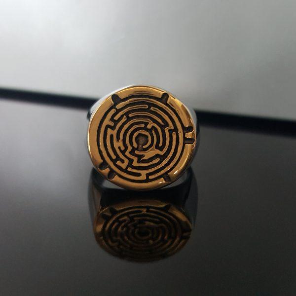 Мъжки пръстен MAZE