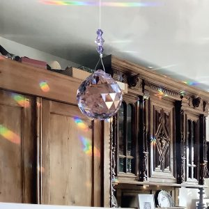 Кристал за окачване - Ball Violet