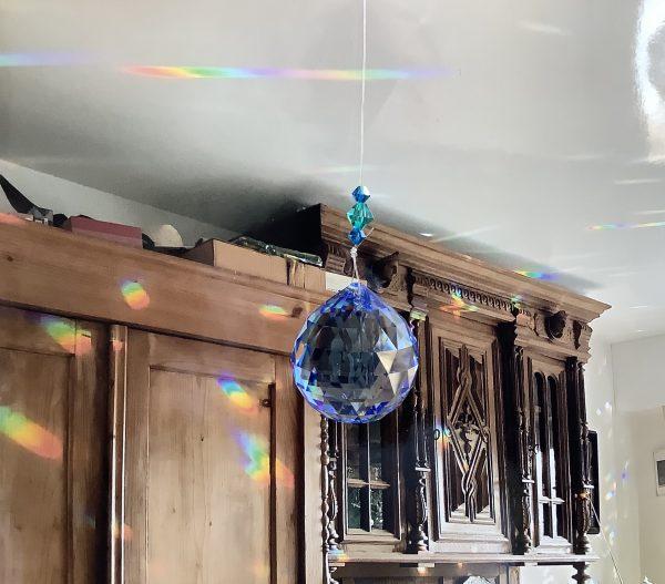 Кристал за окачване - Ball Sapphire