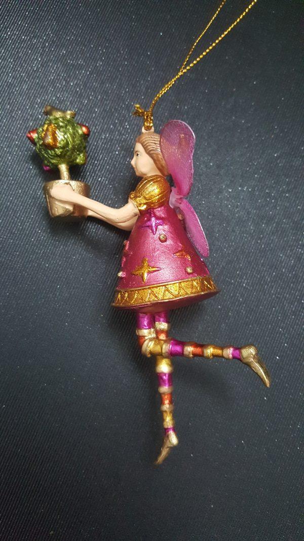 Коледна декоративна фигура Алиса
