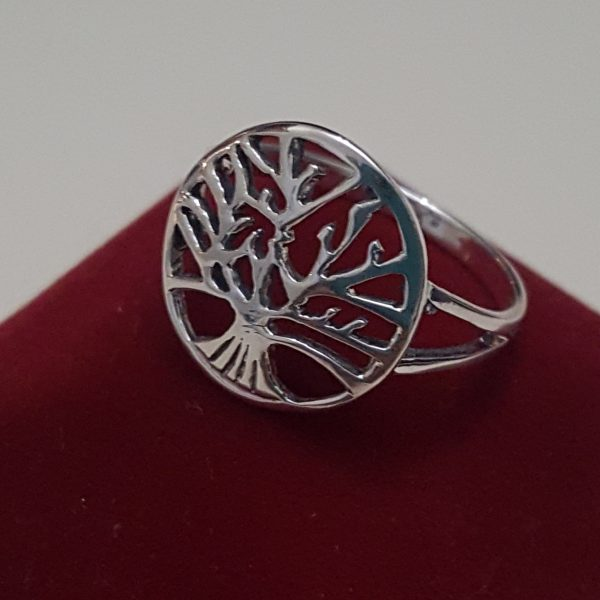 Сребърен пръстен Дървото на живота