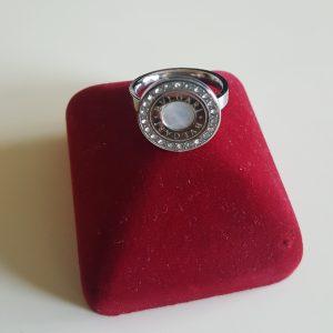 Стоманен дамски пръстен цена