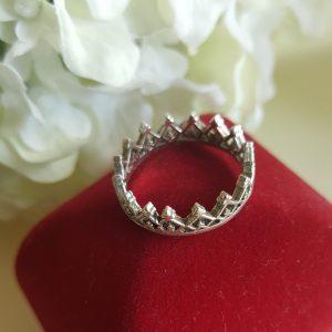Сребърен пръстен Куин