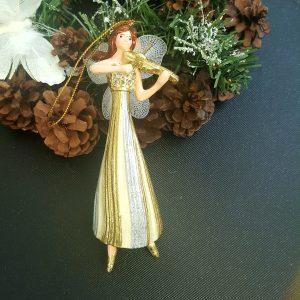Коледна декоративна фигурка за елха