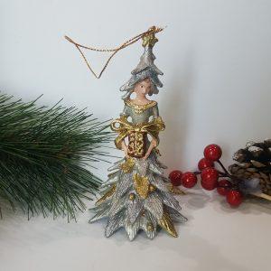 Коледна декоративна фигура Горска фея