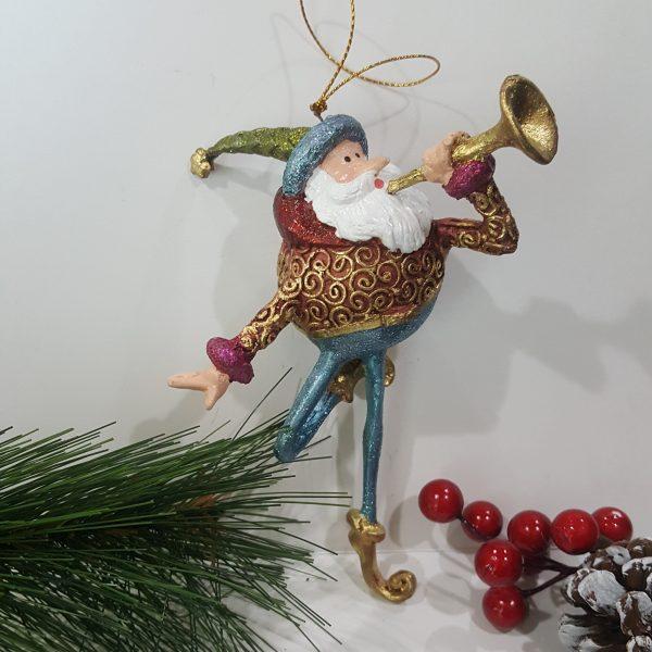 Коледна декоративна фигура Глашатай
