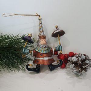 Забавна декорация за елха