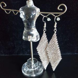 Модни дамски обеци - обеци Елеганс