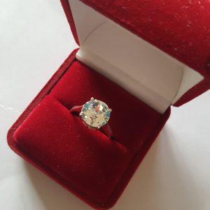Сребърен пръстен Dolce с кристал Кристал