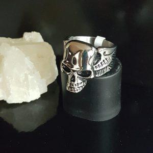 Бижута неръждаема стомана с череп