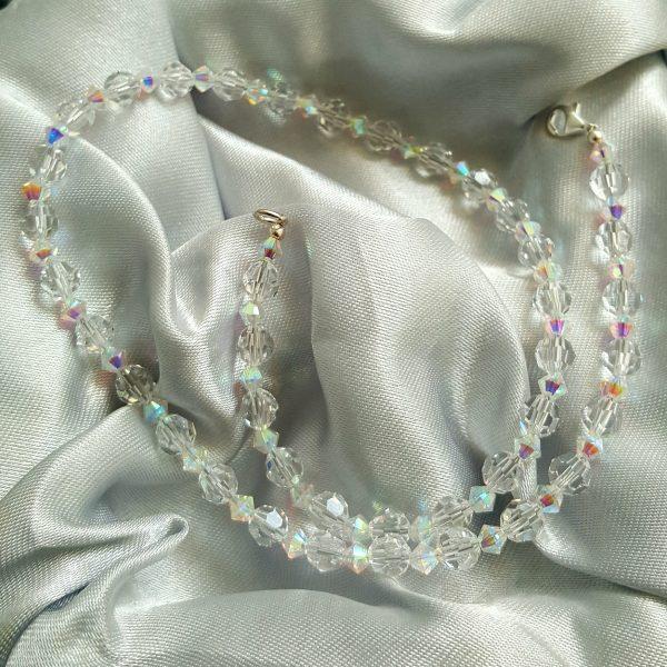 Колие с кристали Сваровски от Di Trend