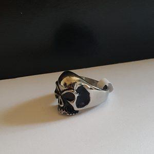 Мъжки пръстен ROLLING SCULL