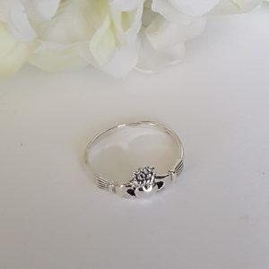 Claddagh Сребърен пръстен