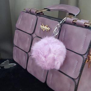 Пух Лила Аксесоар за дамска чанта