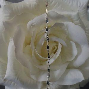 Дамска сребърна гривна