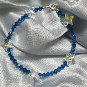 Уникална гривна Европа с кристали Сваровски