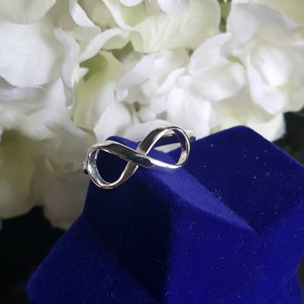 Сребърен пръстен Инфинити