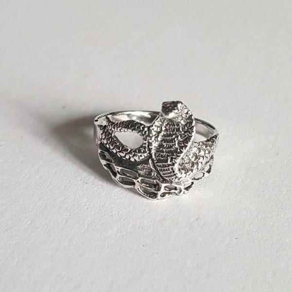 Оригинален сребърен дамски пръстен