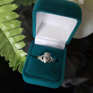 Claddagh 2 Сребърен пръстен