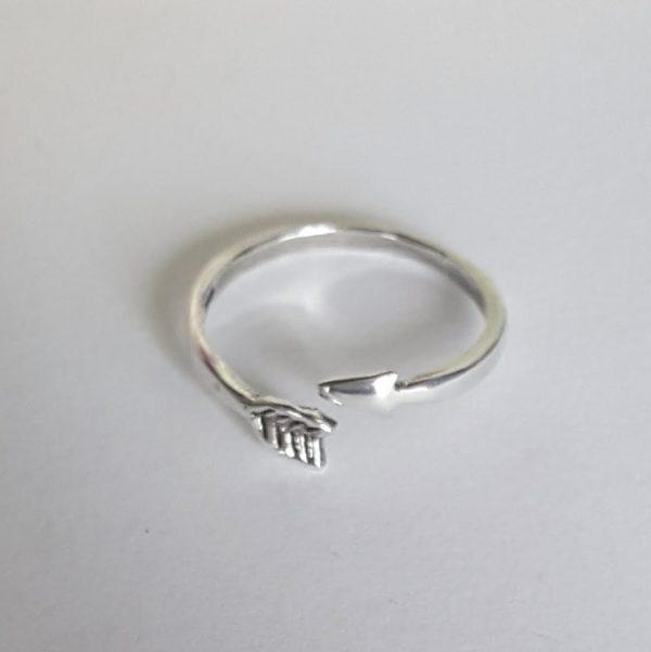 Сребърен пръстен регулируем