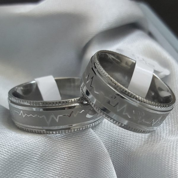 Масивен пръстен халка от неръждаема стомана