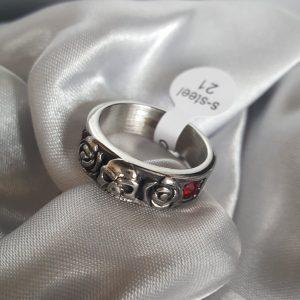 Мъжки пръстен SCULL&ROSES