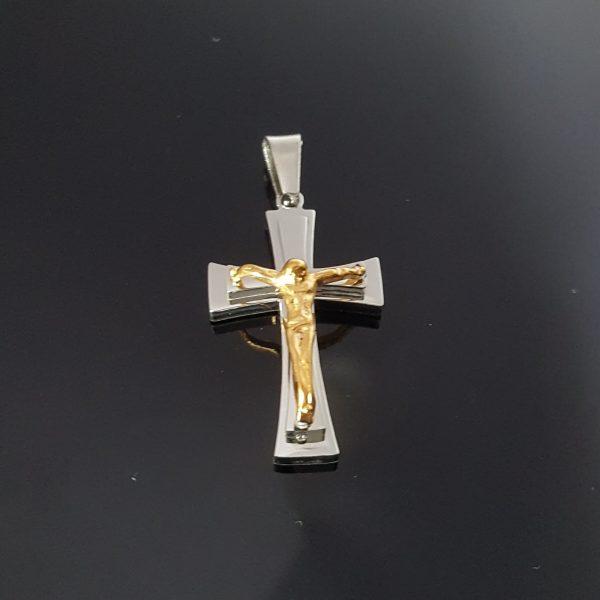 Висулка за колие Кръст Разпятие 3