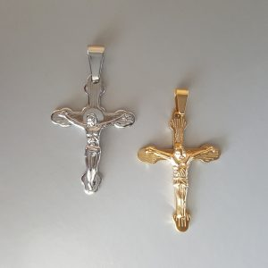 Висулка за колие Кръст Разпятие 2