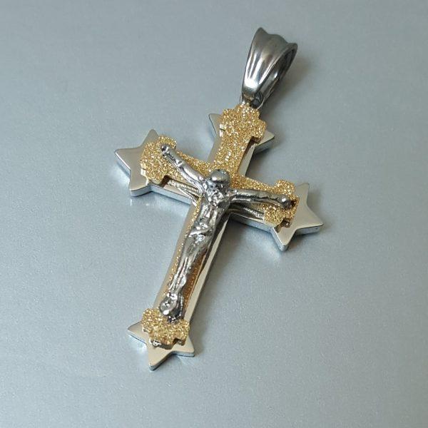 Висулка за колие Кръст Разпятие 4