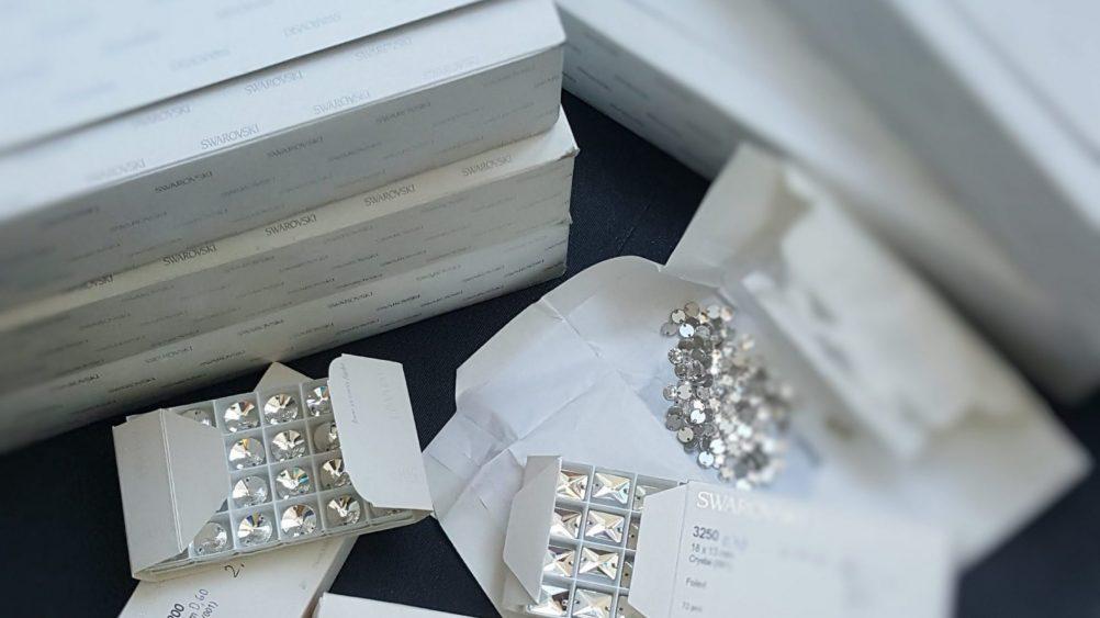 Бижута Swarovski® и бижута, изработени с кристали Swarovski Crystals