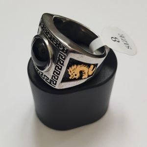 Мъжки пръстен DRAGON с оникс